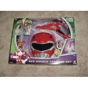 Power Rangers RED RANGER TRAINING SET Toys & Games