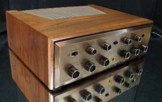 scott lk 72 integrated stereo tube amplifier awesome phono stage