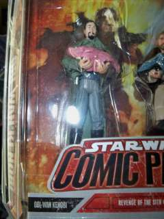 Star Wars ROTS Comic Pack figure   BAIL ORGANA with BABY LEIA (RARE
