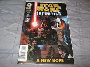 Star Wars Infinities A New Hope #1 Comic Book