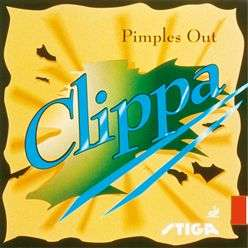 Stiga Clippa Pips out pimples rubber table tennis blade