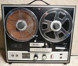 Speed 4 Track Portable Reel to Reel Solid State Tape Recorder TR 1035