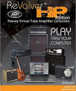 Peavey REVALVER HP Amp Modeling Software NEW