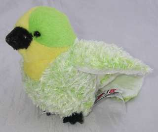 Ganz Webkinz Lil Kinz BUDGIE Green/Yellow Bird No Code