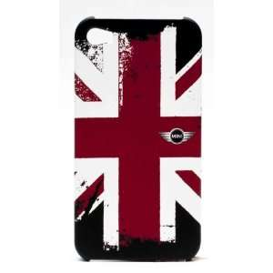 Mini Cooper Union Jack Rubber Case for iPhone 4/4S Cell