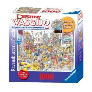 Wasgij Destiny High St. Hustle   1000 Pieces Puzzle Toys